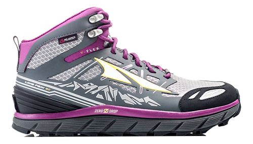 Womens Altra Lone Peak 3 Mid Polartec NeoShell Trail Running Shoe - Black 8.5