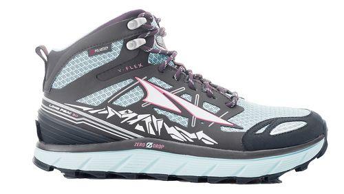 Womens Altra Lone Peak 3 Mid Polartec NeoShell Trail Running Shoe - Blue 11