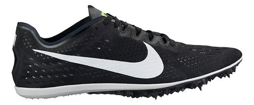 Nike Zoom Victory 3 Track and Field Shoe - Black/White 6