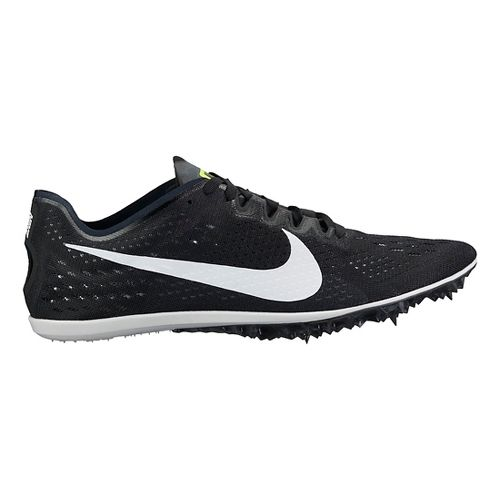 Nike Zoom Victory 3 Track and Field Shoe - Black/White 4.5