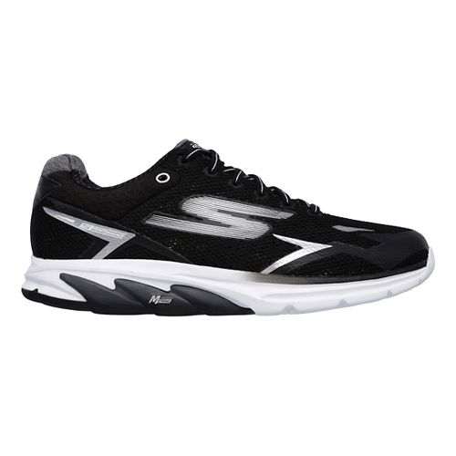 Mens Skechers GO Meb Strada 2 Running Shoe - Black/White 13