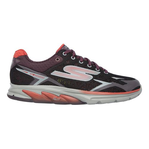 Mens Skechers GO Meb Strada 2 Running Shoe - Burgundy 12
