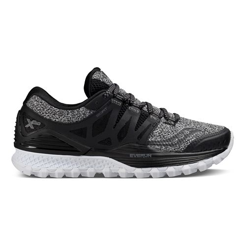 Womens Saucony Xodus ISO Running Shoe - Marl/Black 6
