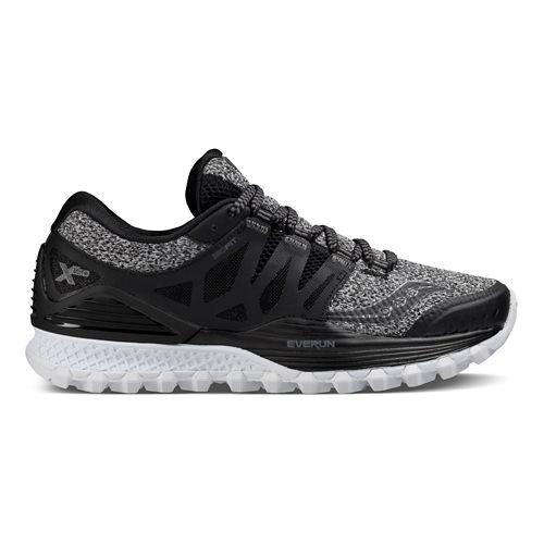 Womens Saucony Xodus ISO Running Shoe - Marl/Black 8.5