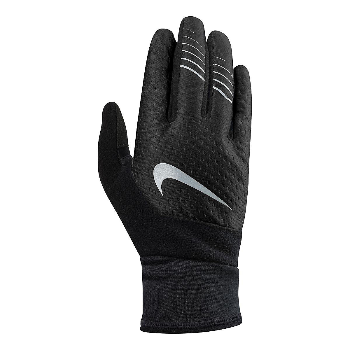Nike Velcro Gloves: Nike Mens Therma-FIT Elite Run Gloves 2.0 Headwear At Road