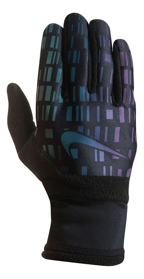 Womens Nike Vapor Flash Run Glove 3.0 Handwear - Black/Iridescent M