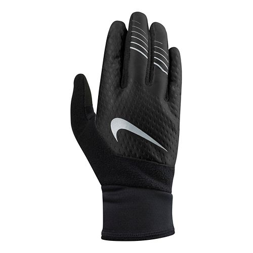 Womens Nike Therma-FIT Elite Gloves 2.0 Handwear - Black/Black S