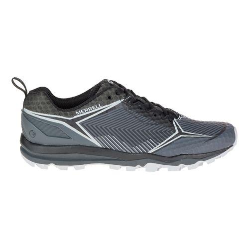 Mens Merrell All Out Crush Shield Trail Running Shoe - Black/Granite 12
