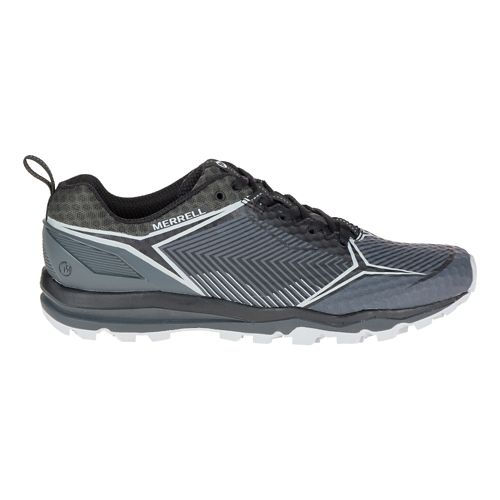 Mens Merrell All Out Crush Shield Trail Running Shoe - Black/Granite 8.5