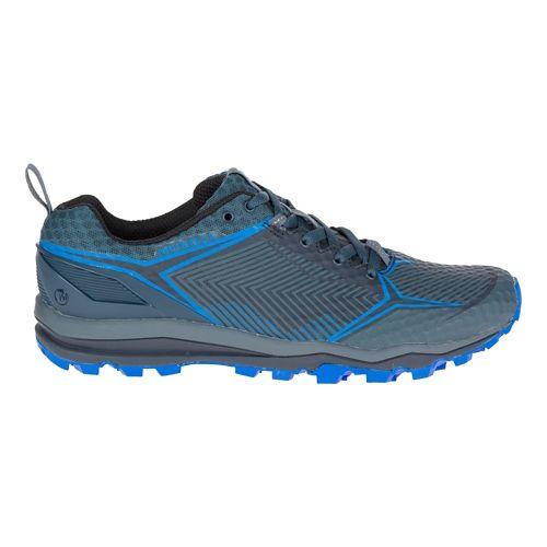 Mens Merrell All Out Crush Shield Trail Running Shoe - Dark Slate 7.5