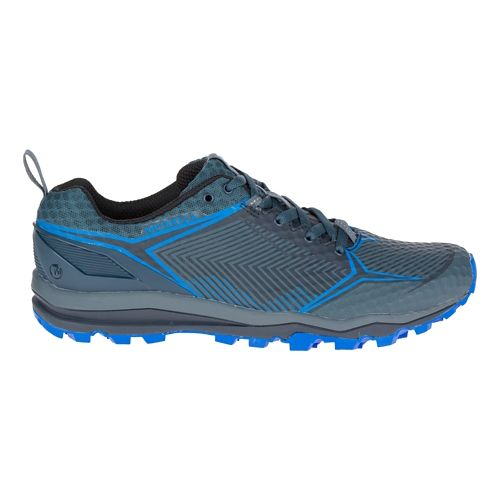 Mens Merrell All Out Crush Shield Trail Running Shoe - Dark Slate 8