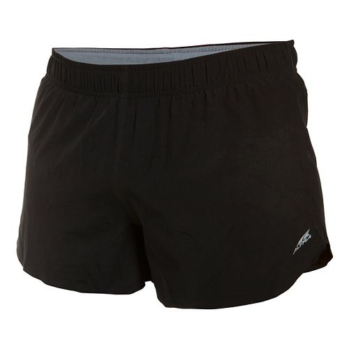 Mens Altra Racer Lined Shorts - Black XL