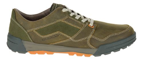 Mens Merrell Berner Lace Casual Shoe - Dusty Olive 12