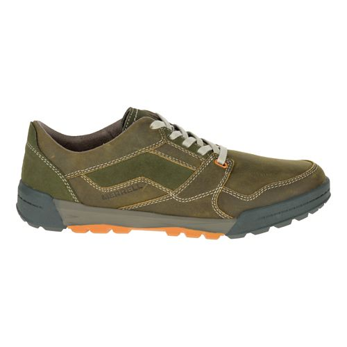 Mens Merrell Berner Lace Casual Shoe - Dusty Olive 7