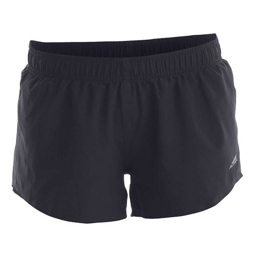 Womens Altra Racer Lined Shorts - Black XS