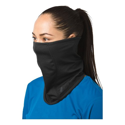 ASICS Thermopolis LT 2-N-1 Neck Gaiter Headwear - Black
