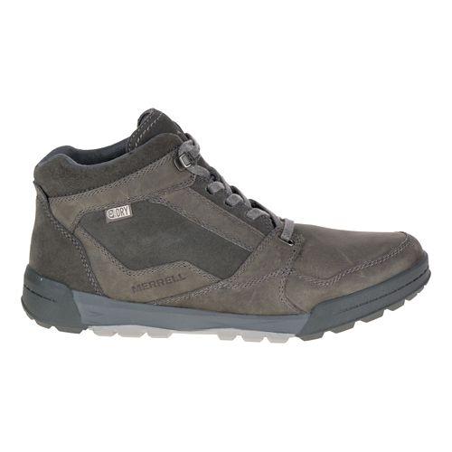 Mens Merrell Berner Mid Waterproof Casual Shoe - Granite 14