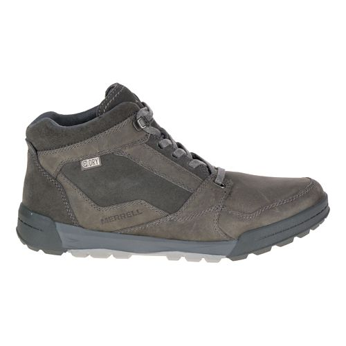 Mens Merrell Berner Mid Waterproof Casual Shoe - Granite 7