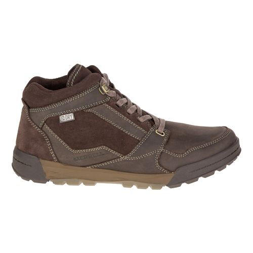 Mens Merrell Berner Mid Waterproof Casual Shoe - Espresso 13