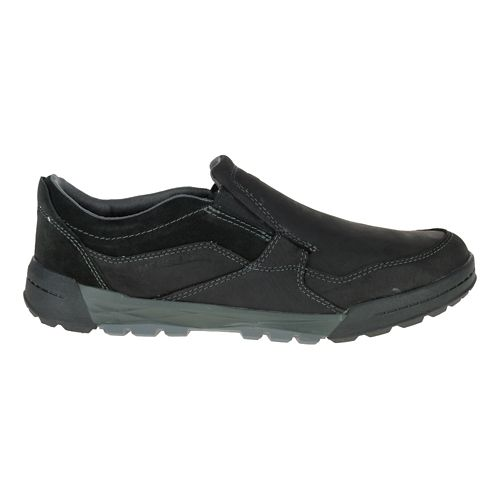 Mens Merrell Berner Moc Casual Shoe - Black 11.5