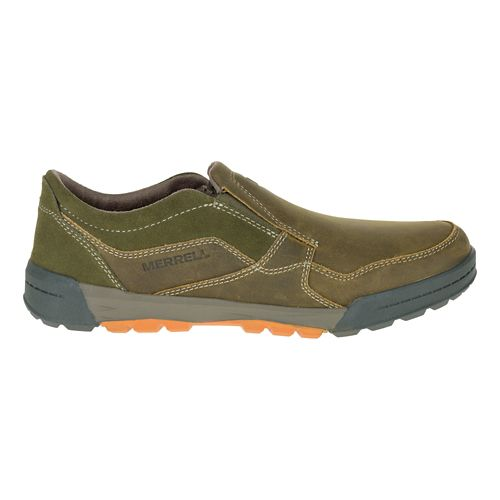 Mens Merrell Berner Moc Casual Shoe - Dusty Olive 8