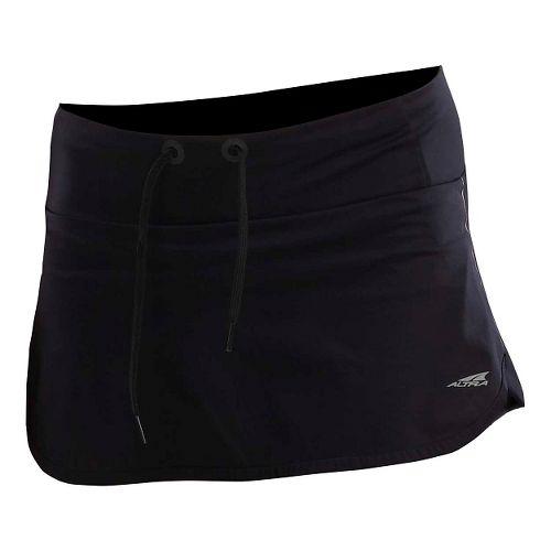 Womens Altra Performance Fitness Skirts - Black L