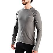 Mens Altra Running Tee Long Sleeve Technical Tops
