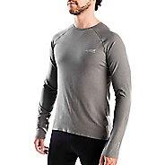 Mens Altra Running Tee Long Sleeve Technical Tops - Grey XL