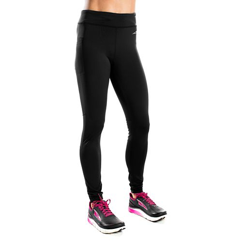 Womens Altra Performance Full Tights & Leggings Pants - Black L