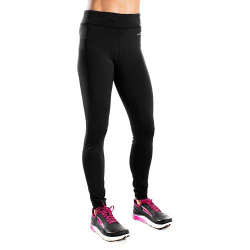 Womens Altra Performance Full Tights & Leggings Pants - Black XS