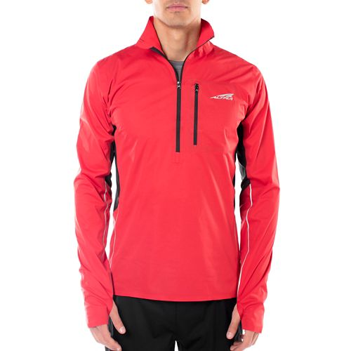 Mens Altra Performance Half-Zips & Hoodies Technical Tops - Red M
