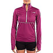Womens Altra Performance Half-Zips & Hoodies Technical Tops