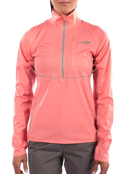 Womens Altra Performance Half-Zips & Hoodies Technical Tops - Pink S