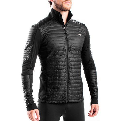 Mens Altra Performance Full Zip Zoned Heat Running Jackets - Black L