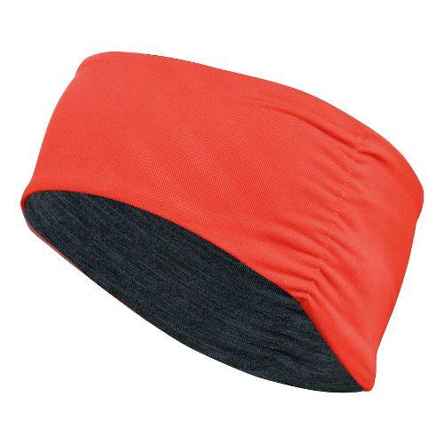 ASICS Thermopolis LT Ruched Headwarmer Headwear - Orange/Grey Heather