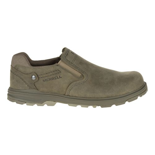 Mens Merrell Brevard Moc Casual Shoe - Brindle 9