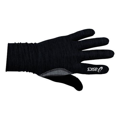 ASICS Thermopolis LT Ruched Glove Handwear - Black S/M