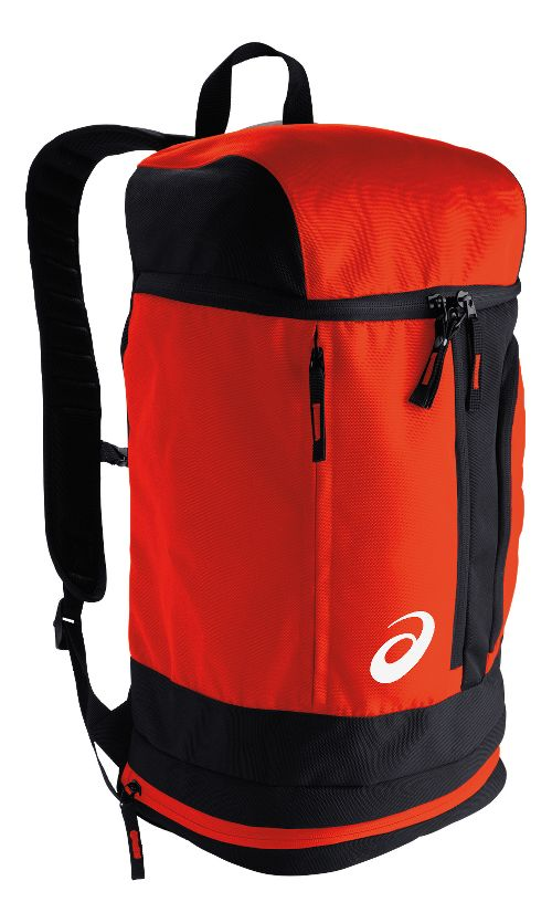 ASICS TM X-Over Backpack Bags - Red/Black