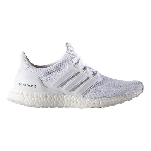 Womens adidas Ultra Boost Running Shoe - Triple White 9.5