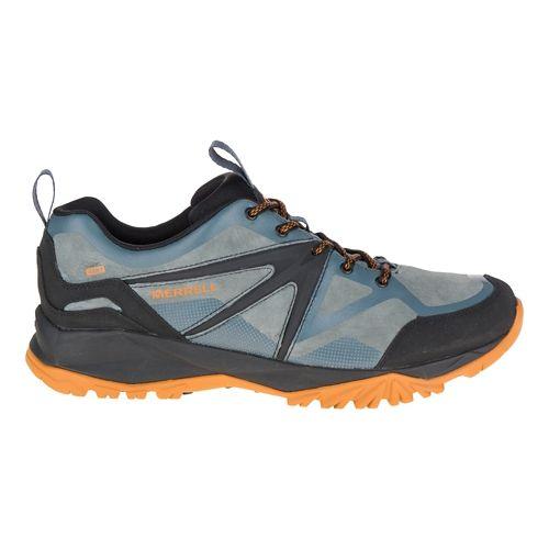 Mens Merrell Capra Bolt Leather Waterproof Hiking Shoe - Dark Slate 7