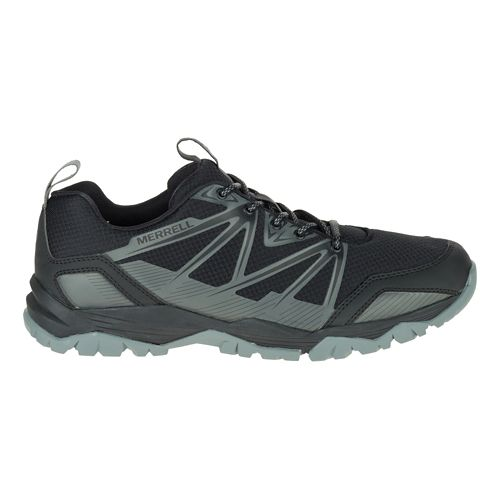 Mens Merrell Capra Rise Hiking Shoe - Black 10.5