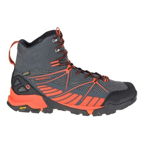 Mens Merrell Capra Venture Mid Gore-Tex Surround Hiking Shoe - Granite 9