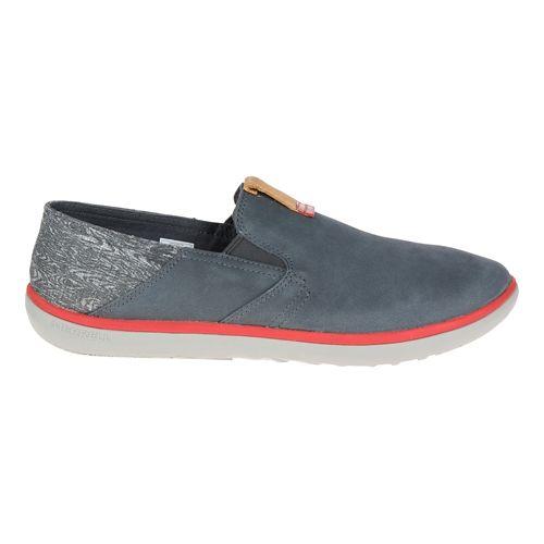 Mens Merrell Duskair Moc Smooth Casual Shoe - Granite 14
