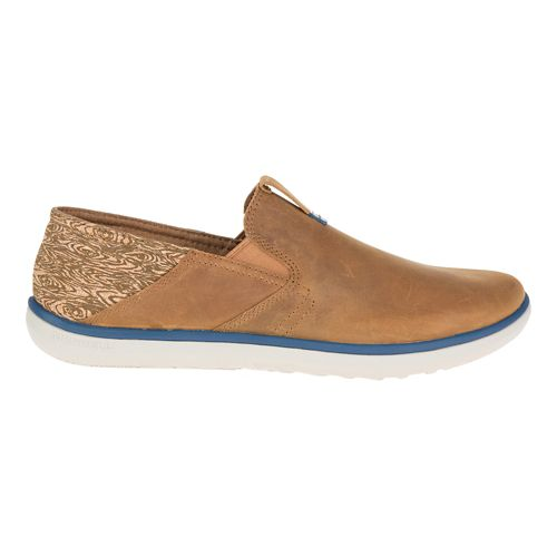 Mens Merrell Duskair Moc Smooth Casual Shoe - Brown Sugar 8.5