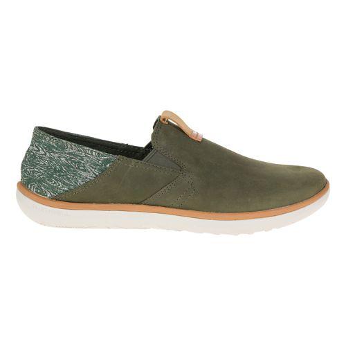 Mens Merrell Duskair Moc Smooth Casual Shoe - Rosin 14