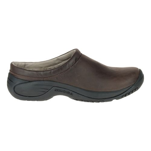 Mens Merrell Encore Chill Smooth Casual Shoe - Espresso 10