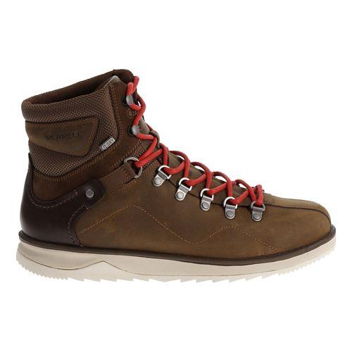 Mens Merrell Epiction Polar Waterproof Casual Shoe - Brown Sugar 10