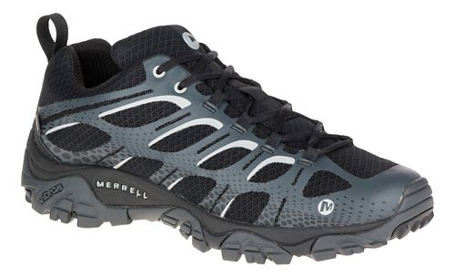 Mens Merrell Moab Edge Waterproof Hiking Shoe - Black 10.5
