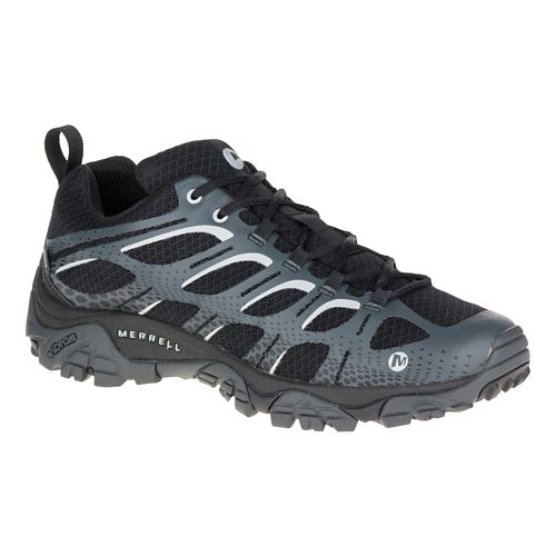 Mens Merrell Moab Edge Waterproof Hiking Shoe - Black 8.5