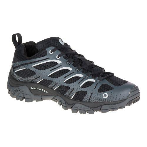 Mens Merrell Moab Edge Waterproof Hiking Shoe - Black 9